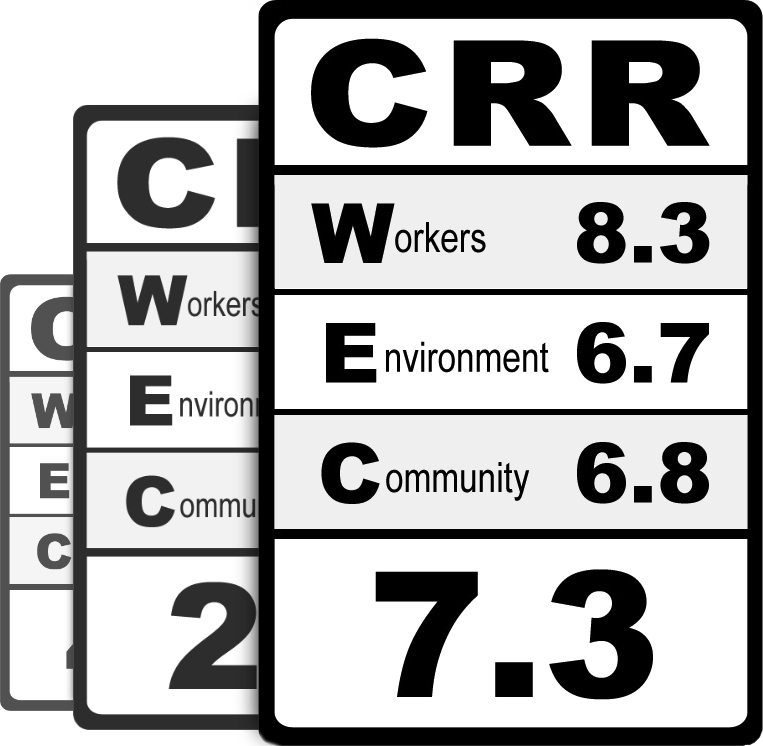 CRR Product Label